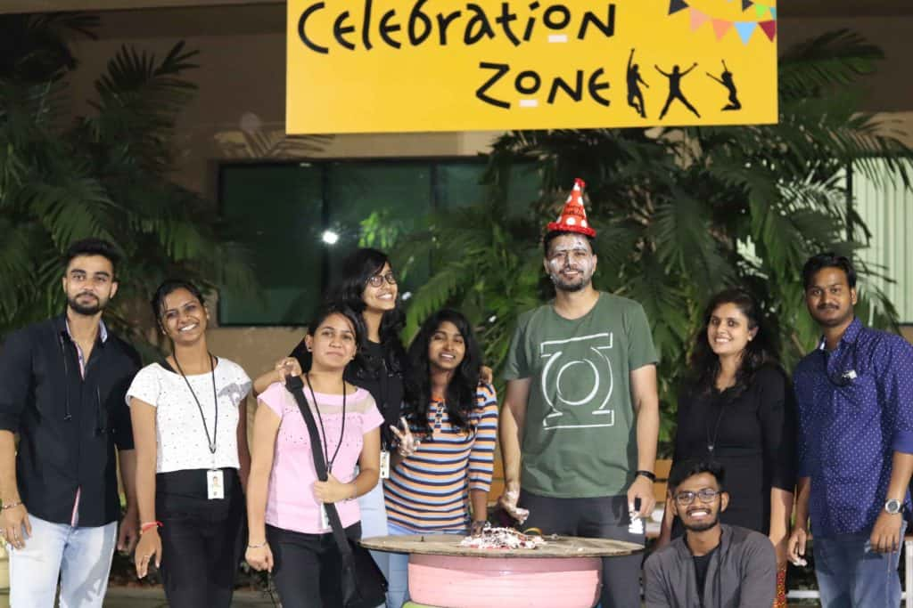 Celebration Zone in infosys sez hyderabad campus