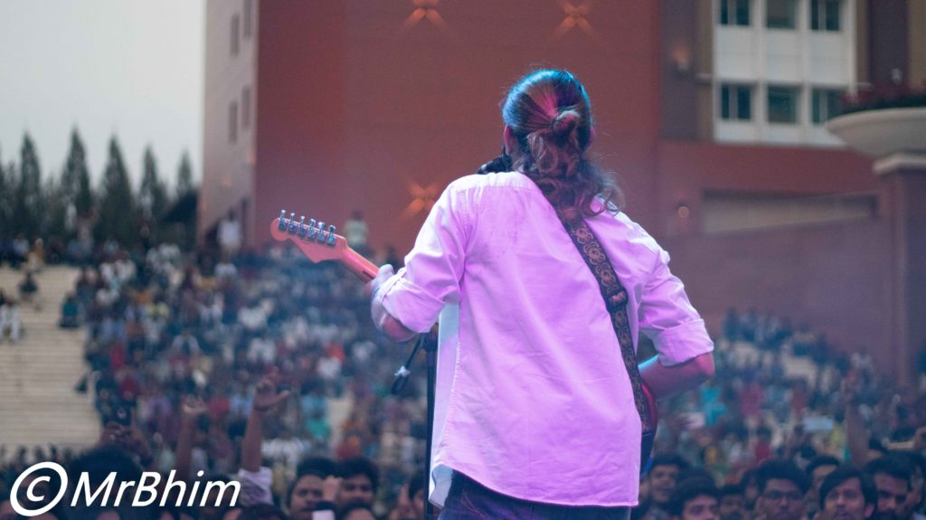 Concert at infy hyd sez campus
