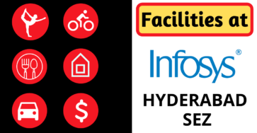 Facilities in Infosys Hyderabad SEZ