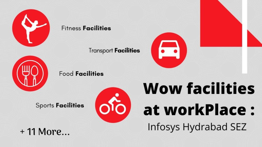 Facilities in Infosys sez hyderabad