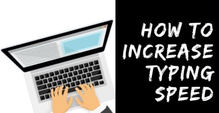 Increase Typing speed