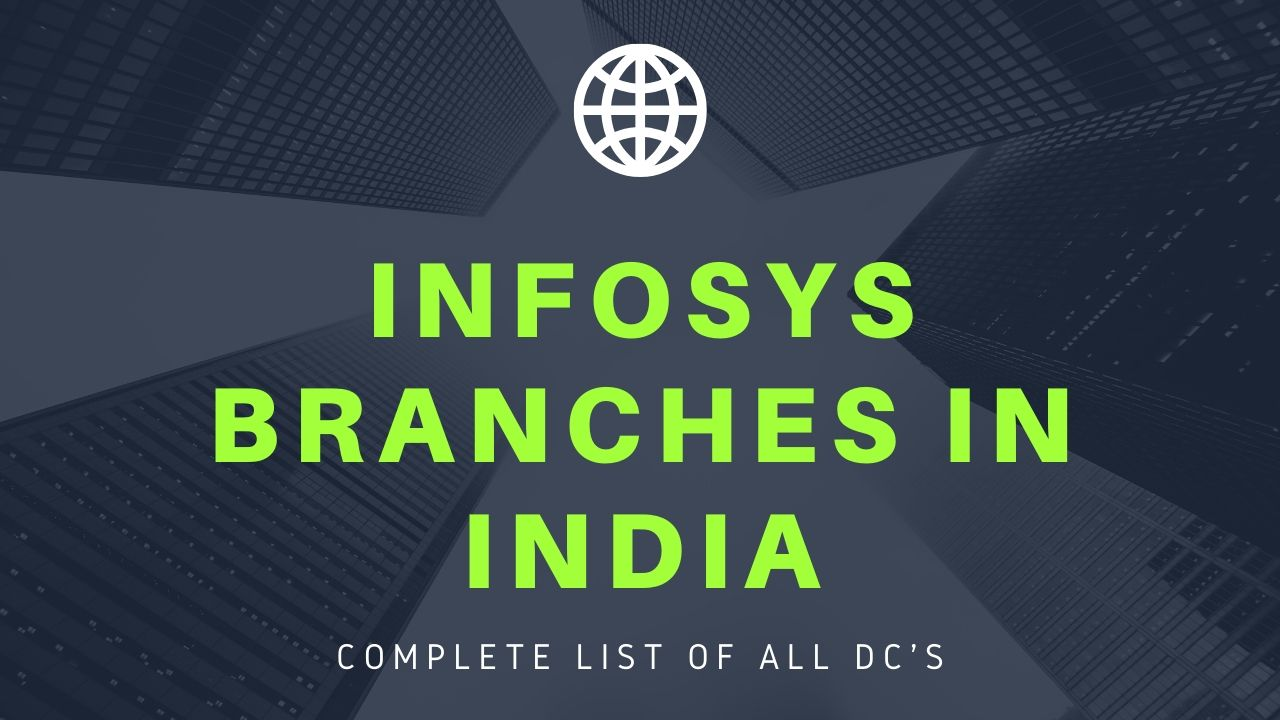 Infosys Branches in India